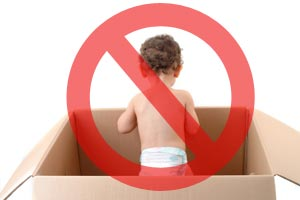 What not to pack when moving house